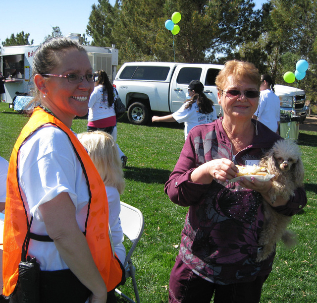 File photo The second annual Rock, Roll & Stroll to benefit the Senior Center of Boulder City and its Meals on Wheels program will take place from 10 a.m. to 2 p.m. Saturday at Bicentennial Pa ...