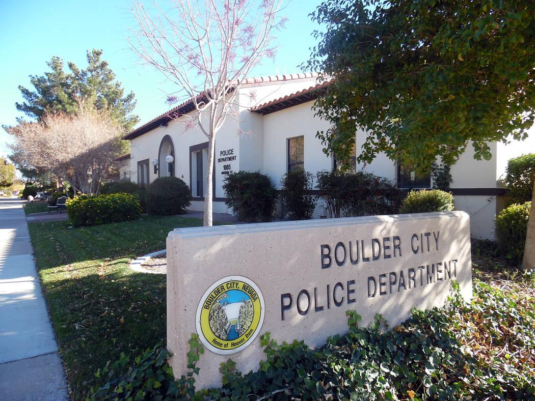 The Boulder City Police Department, 1005 Arizona St.