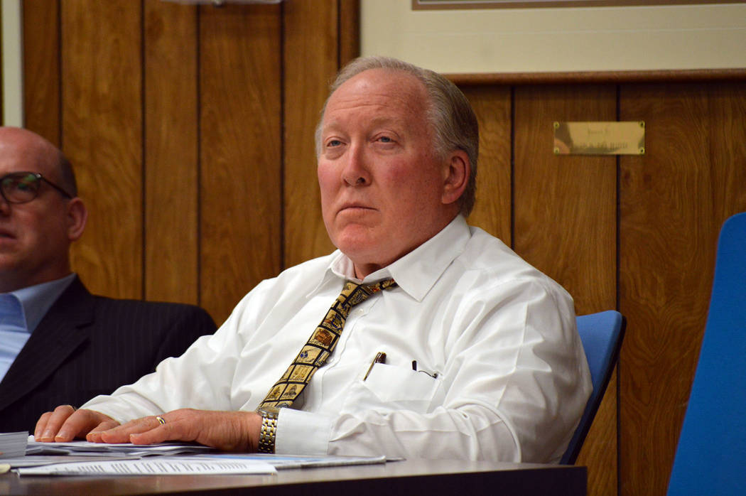 Celia Shortt Goodyear/Boulder City Review The City Council approved its separation agreement with City Attorney Dave Olsen at its meeting Tuesday night.