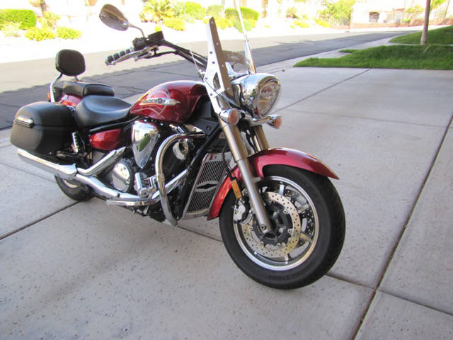 Courtesy photo A 2011 Yamaha model XVS1300CT with 13,250 miles on it will be auctioned off during Boulder City Hospital Foundation's Heart of the Community gala on April 7.
