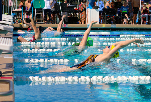 BCHS swimmers leave Silverado in their wake, cruise to easy victory