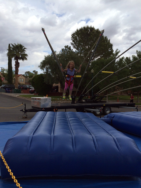File The Kidzone is one of the highlights of the annual Spring Jamboree, which returns to downtown Boulder City on Saturday and Sunday.