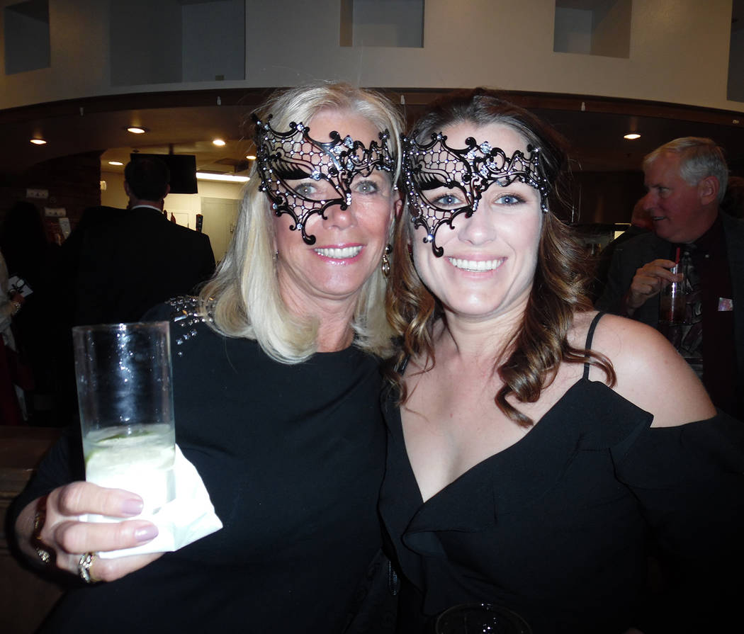 Hali Bernstein Saylor/Boulder City Review Among those attending the annual Heart of the Community Gala on Friday to benefit Boulder City Hospital were Bobbi Gold, left, and Jackie Schams.
