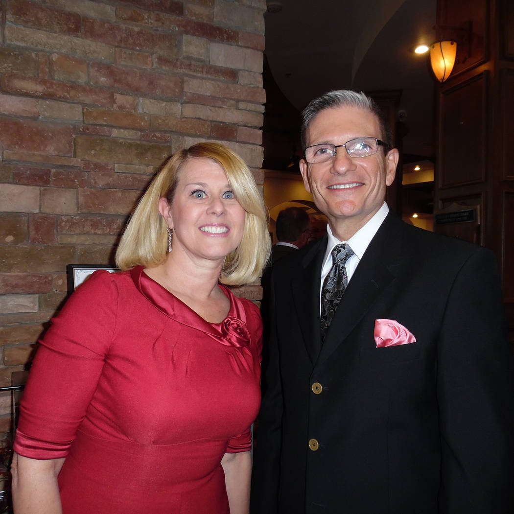 Hali Bernstein Saylor/Boulder City Review Former Rep. Dr. Joe Heck and his wife, Lisa, attended Friday's Heart of the Community Gala to benefit Boulder City Hospital at the Boulder Creek Golf Club.