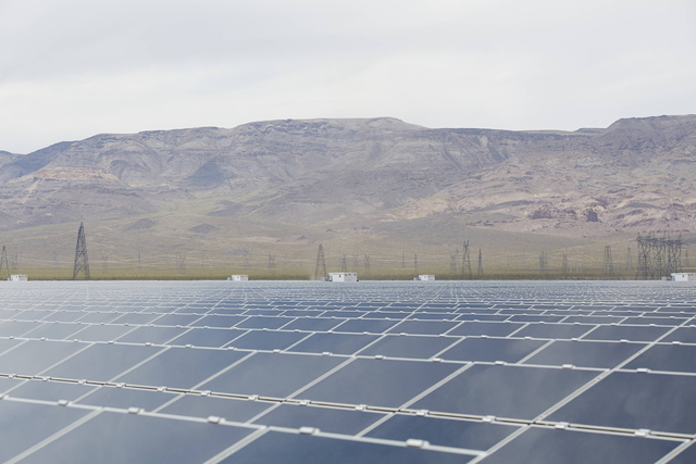 File A new study shows that the Copper Mountain solar complex, including Copper Mountain 1, owned by Sempra U.S. Gas & Power, will boost the state's economy by $2.5 billion over a 26-year period.