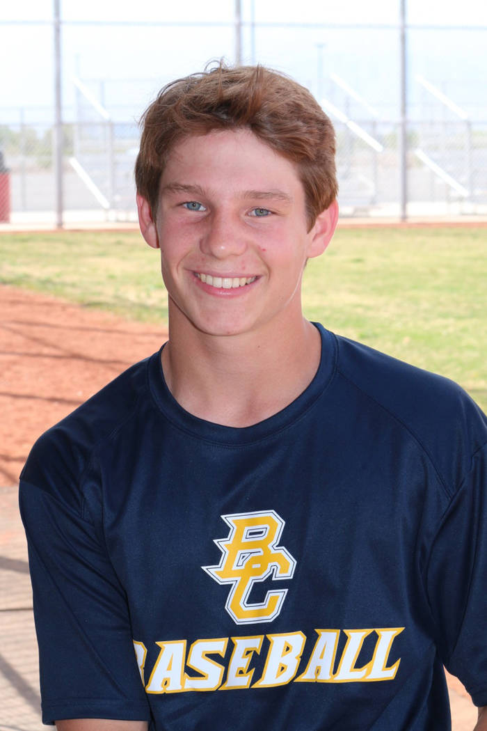 Laura Hubel/Boulder City Review  Each week the coaches at Boulder City High School nominate an athlete to spotlight for contributions made to his or her team. This week's honor goes to juni ...