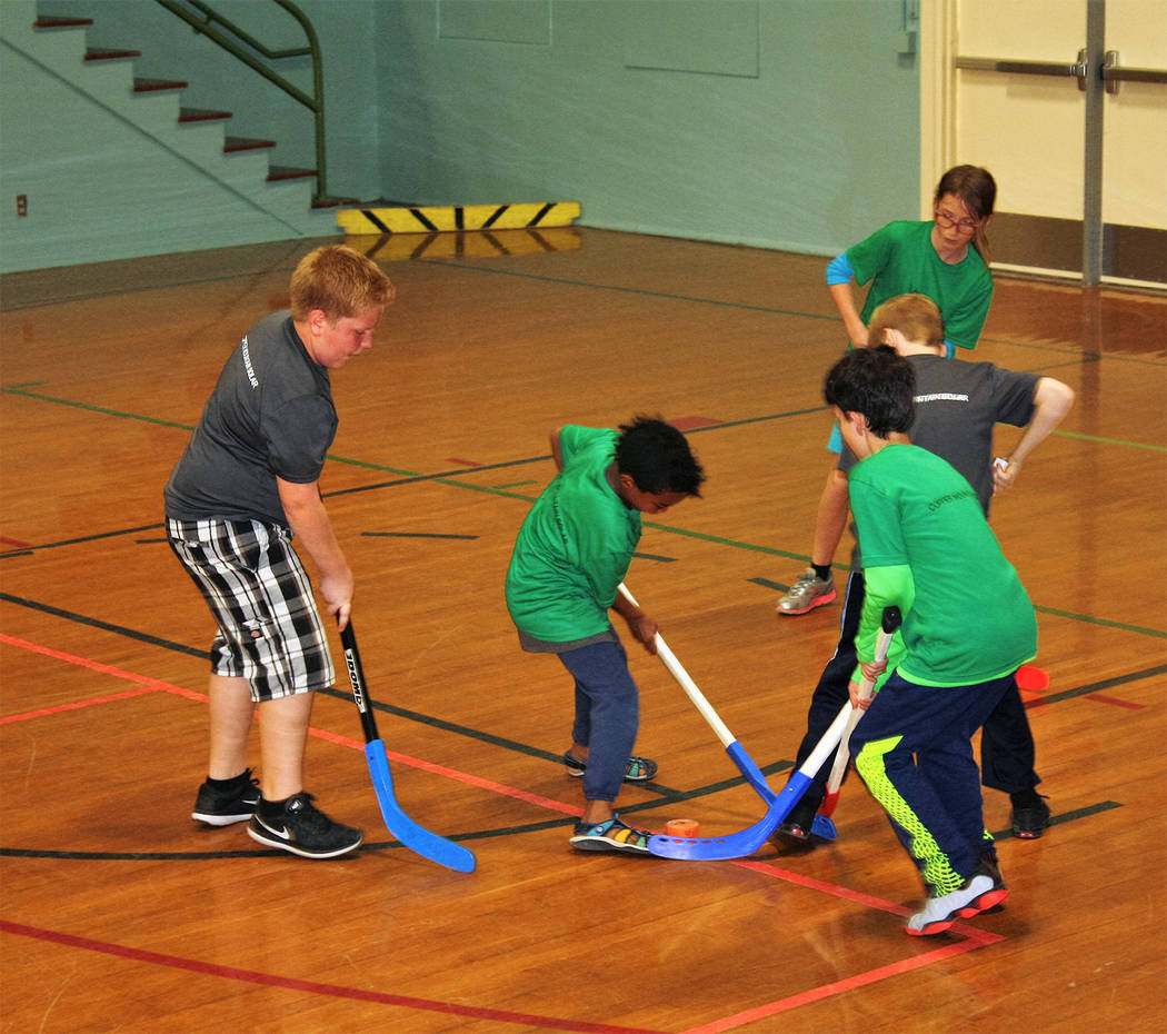 Boulder City Parks and Recreation The youth floor hockey league for third- through sixth-graders recently completed it season.