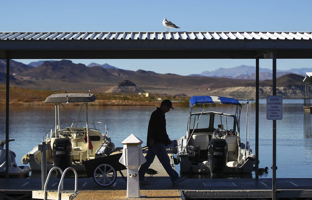 Las Vegas Review-Journal File Visitors to Lake Mead National Recreation Area brought in $312.6 million to the local economy during 2016, according to a recent study.