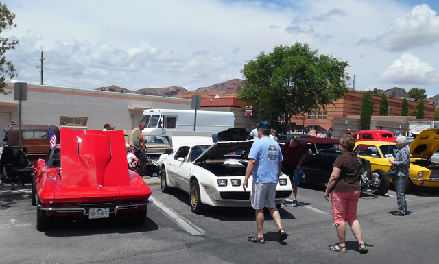 The 39th annual Boulder City Spring Jamboree sprawled across three downtown parks and hosted a car show Saturday with classic hot rods and ultramodern technological marvels, in addition to live en ...