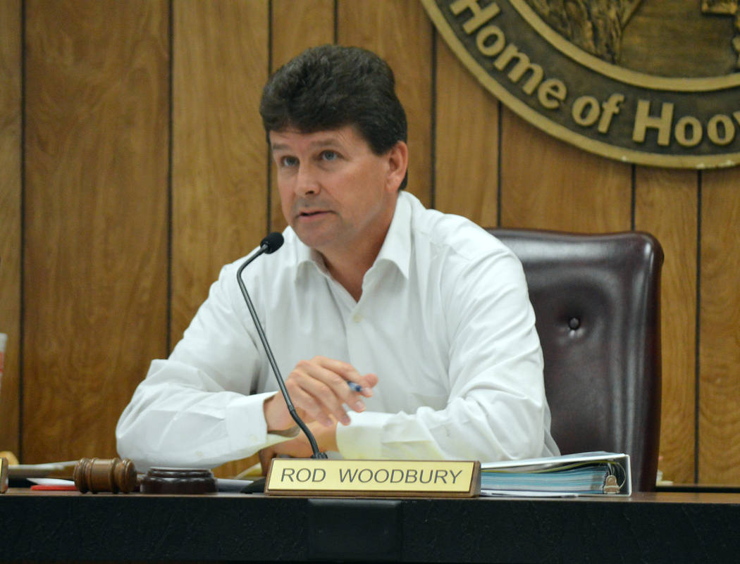 Celia Shortt Goodyear/Boulder City Review At the budget workshop Tuesday morning, Mayor Rod Woodbury suggested tabling the 69kV transmission loop project while the city researches other options fo ...