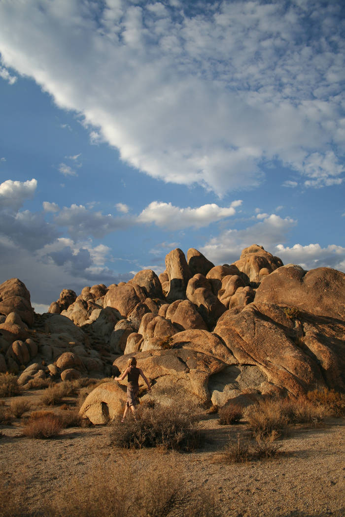 Deborah Wall The 30,000-acre Alabama Hills Recreation Area in California is made up of granite formations.