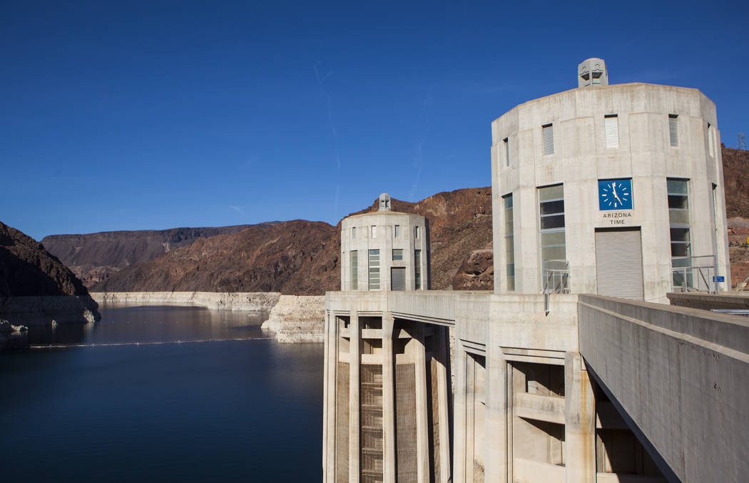 Miranda Alam/Las Vegas Review-Journal Officials in Arizona have wages a war of words over how to best cut their state's use of water to keep Lake Mead to shrinking to federal shortage levels.