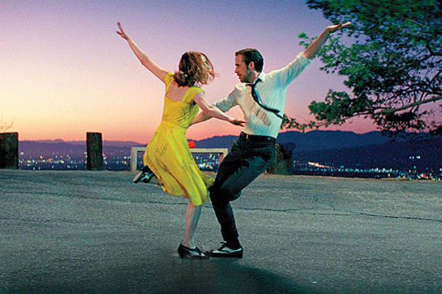 "The musical hit ""La La Land,"" with Emma Stone and Ryan Gosling will be shown in the amphitheater at Boulder City Library at 8 p.m. Friday."