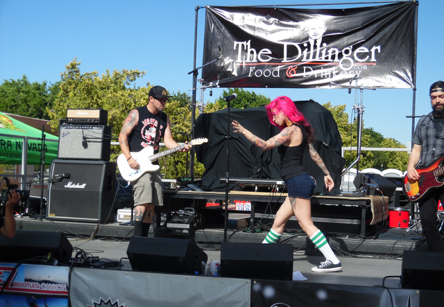 File The Scoundrels performed at The Dillinger's fifth annual block party last year. This year's event kicks off at 4 p.m. Saturday.