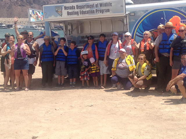 Boulder City Review File As part of the National Safe Boating Council's events to promote water safety, people are being asked to help set a world record for the most life jackets worn in a day on ...