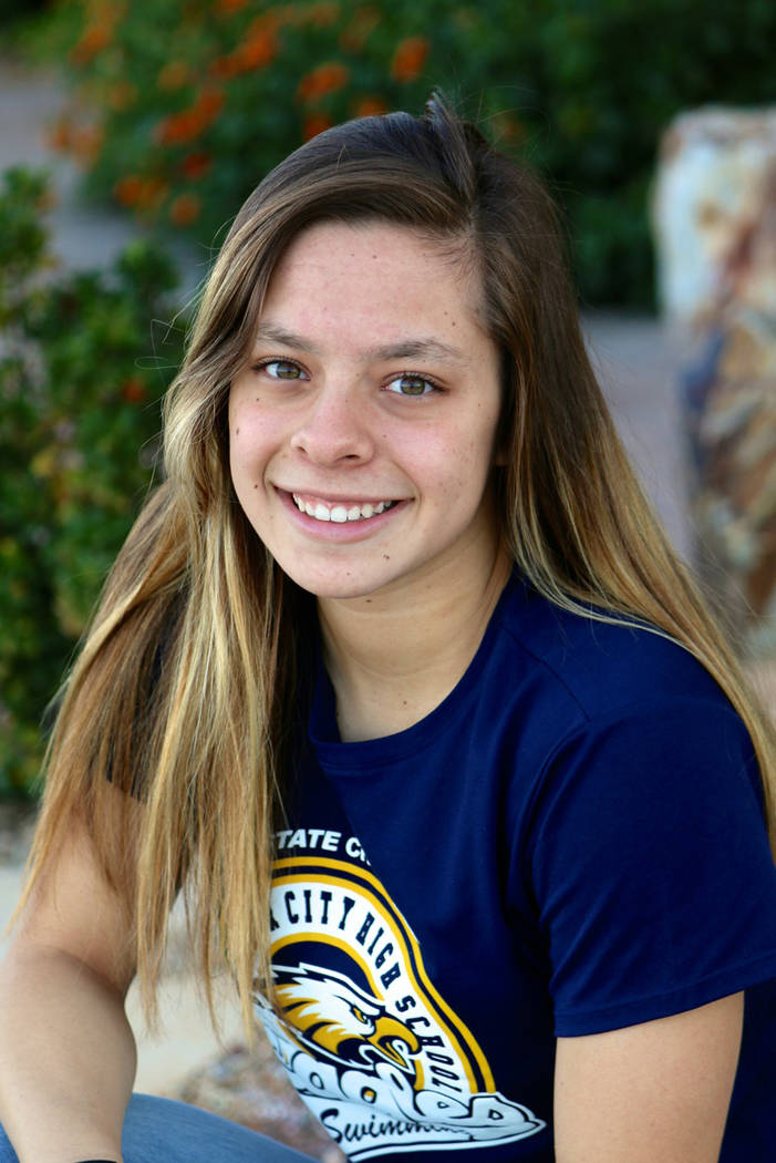 Laura Hubel/Boulder City Review  Each week the coaches at Boulder City High School nominate an athlete to spotlight for contributions made to his or her team. This week's honor goes to senior Mo ...