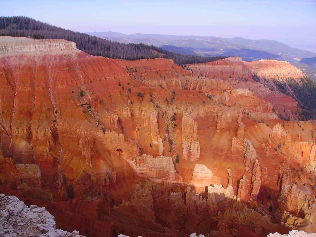 Deborah Wall A highlight of visiting Cedar Breaks National Monument in Utah is seeing the colorful hoodoo-filled amphitheater.