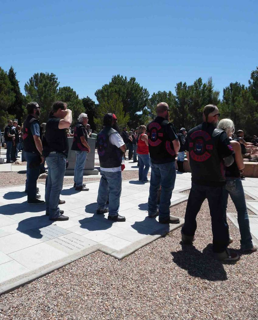 Hali Bernstein Saylor/Boulder City Review About 1,700 motorcycles participated in the 23 annual Fly Your Flags Over the Dam Run presented by the Vietnam Vets-Legacy Vets Motorcycle Club. The Sunda ...