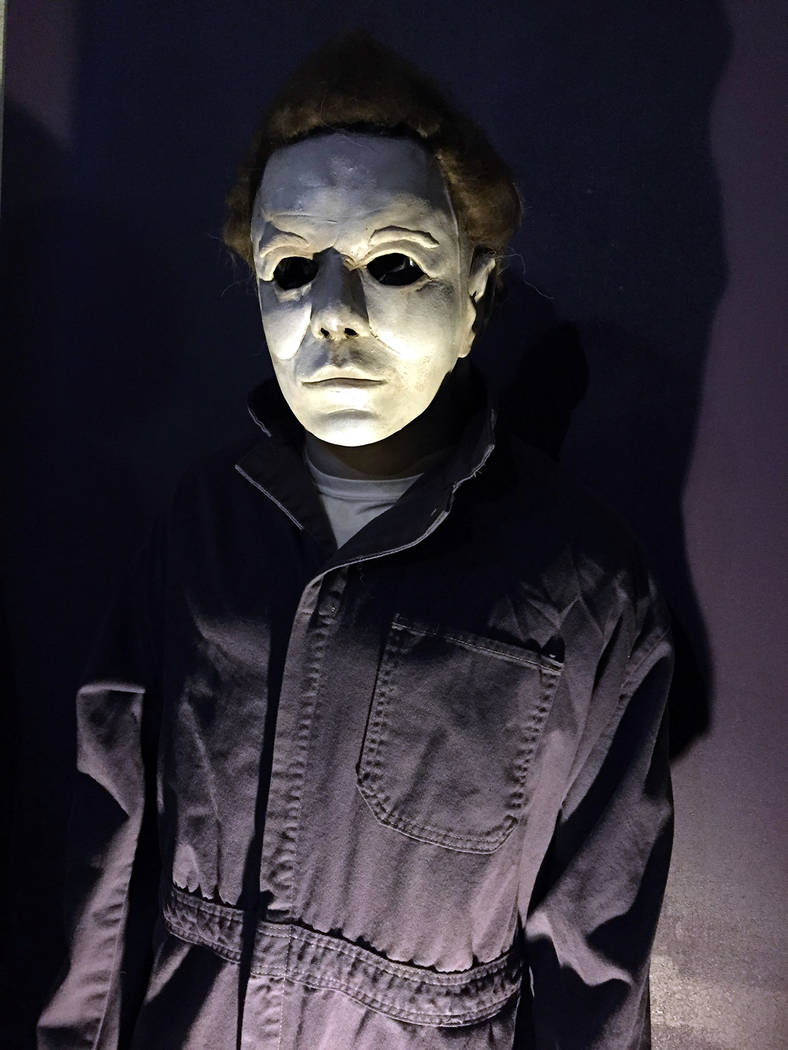 """Tom Devlin This rendition of Michael, the main character from the """"Halloween"""" movies is one of Tom Devlin's creations showcased at Tom Devlin's Monster Museum."""