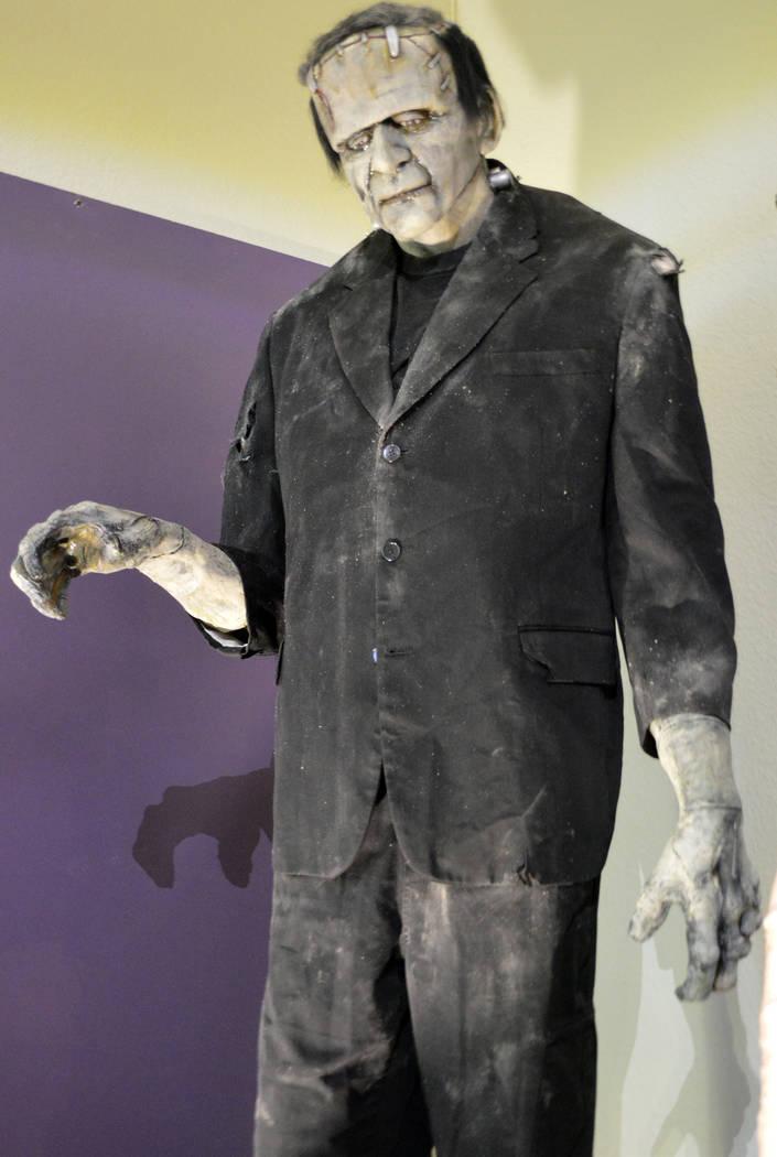 Celia Shortt Goodyear/Boulder City Review Tom Devlin created a full-size rendition of Frankenstein.