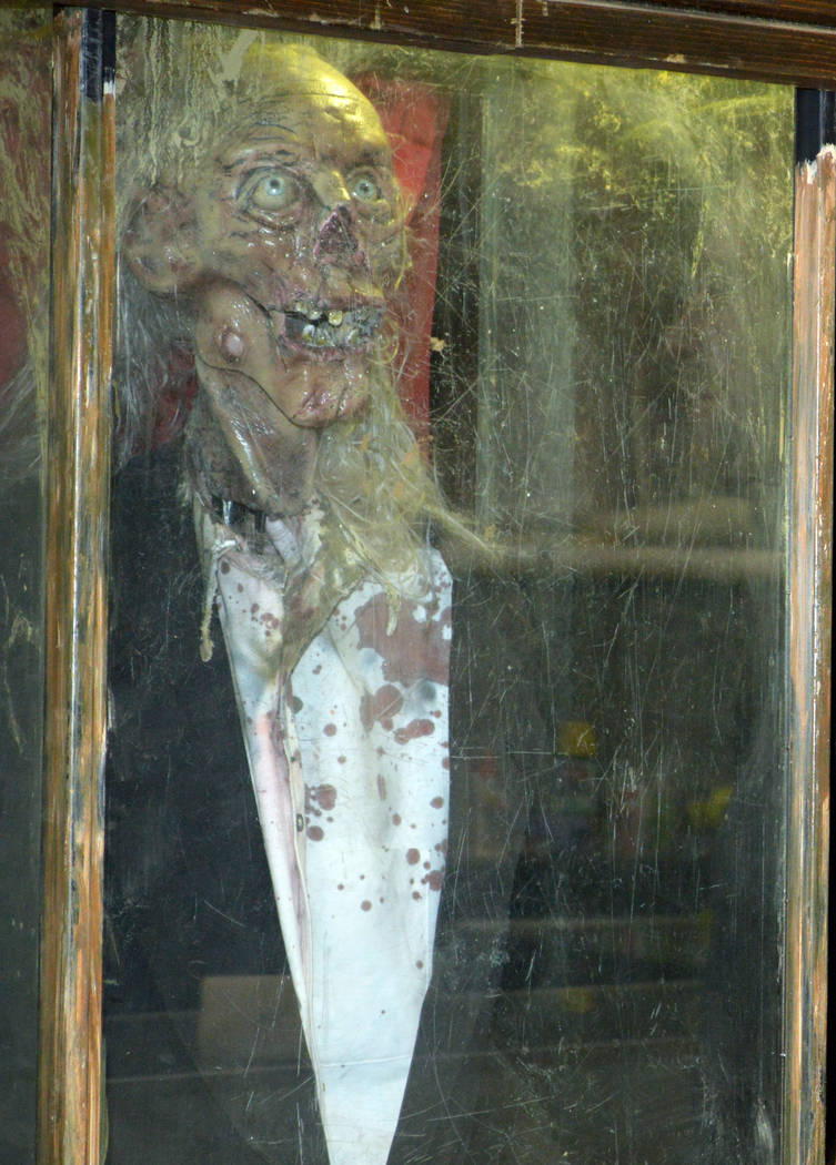 """Celia Shortt Goodyear/Boulder City Review Tom Devlin's Monster Museum will feature the Crypt Keeper, host of the television series """"Tales from the Crypt,"""" who will direct visitors through the museum."""