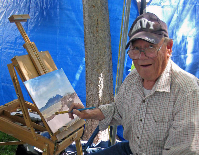 Boulder City Art Guild Works by artist Lloyd Martin are on display throughout June in Boulder City Art Guild's gallery inside the Boulder Dam Hotel. He will be feted Sunday during a reception from ...