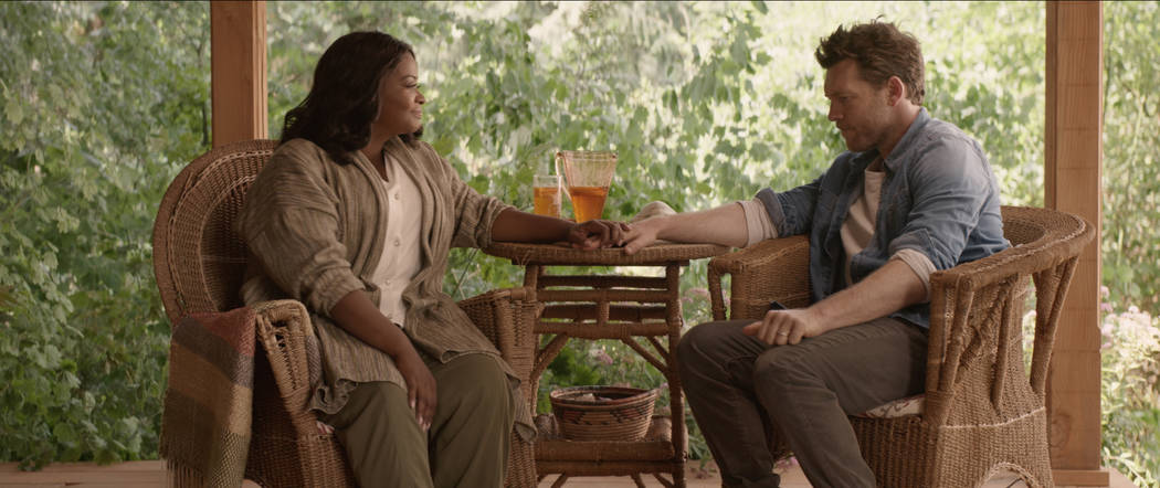 """File Papa (Octavia Spencer) and Mack Phillips (Sam Worthington) in """"The Shack."""" The film will be shown at 5:30 p.m. Friday at the Boulder City Library, 701 Adams Blvd."""