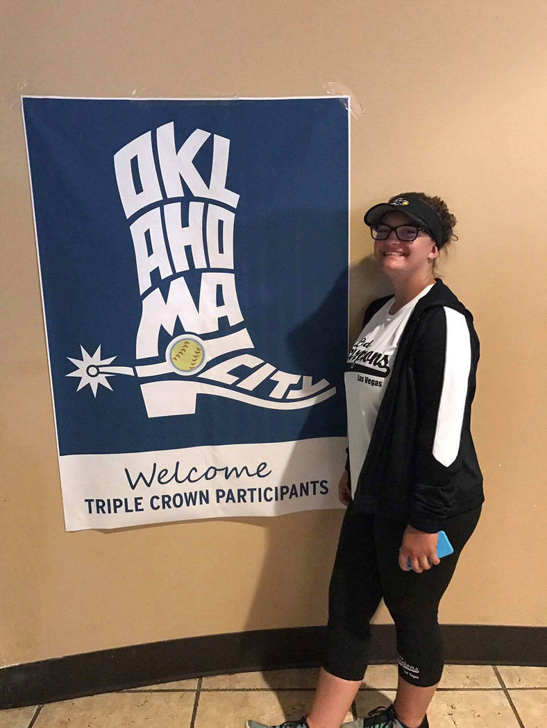 Lily Osman Boulder City High School softball standout Lily Osman recently played in the Triple Crown tournament with her traveling team, the Lady Scorpions, while attending the NCAA Women's Colleg ...