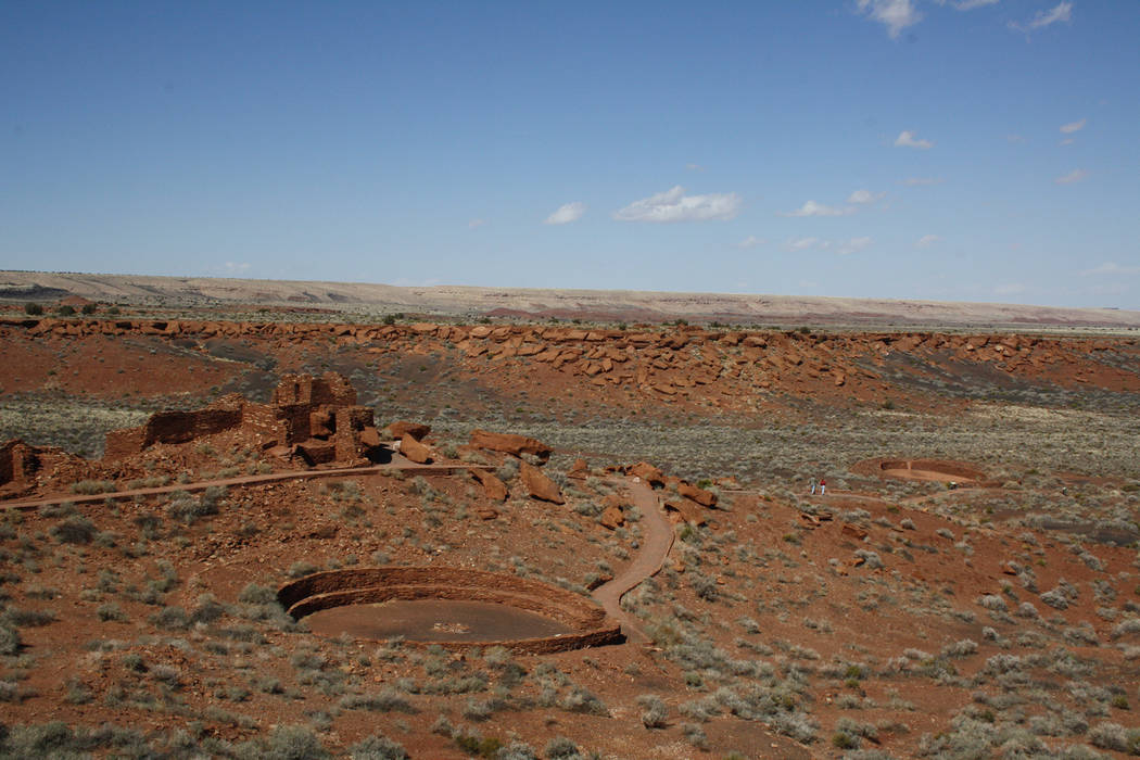 Deborah Wall Wupatki Pueblo in Wupatki National Monument in Ariziona s one of the better preserved pueblos in the Southwest.