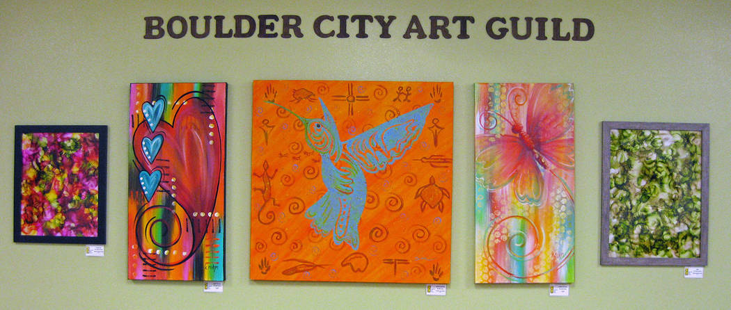 Boulder City Art Guild A variety of paintings by members of the Boulder City Art Guild are on display at Boulder City Hospital, 901 Adams Blvd. The exhibit continues through October.