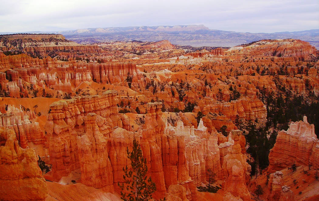 Deborah Wall In Bryce Canyon National Park's main area, there are deep amphitheaters filled with colorful hoodoos. The Utah park is about a four-and-a-half drive from Boulder City.