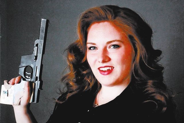 Alexis Lagan, a 2011 graduate of Boulder City High School, has her sights set on the 2020 Olympics after coming in second in air pistols and just missing being named to this year's shooting team.  ...