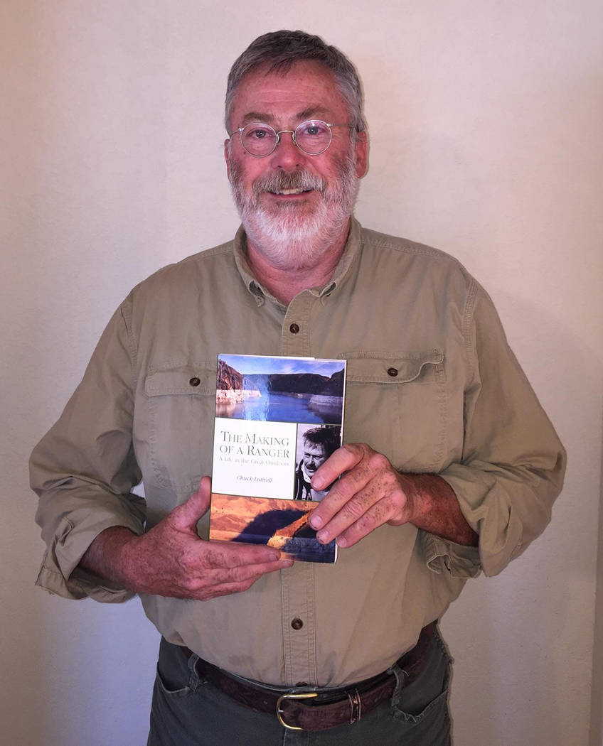 """Brenda Ewers Chuck Luttrell has written a book, """"The Making of a Ranger,"""" about his adventures as a National Park Service ranger. It is based on a journal he kept."""