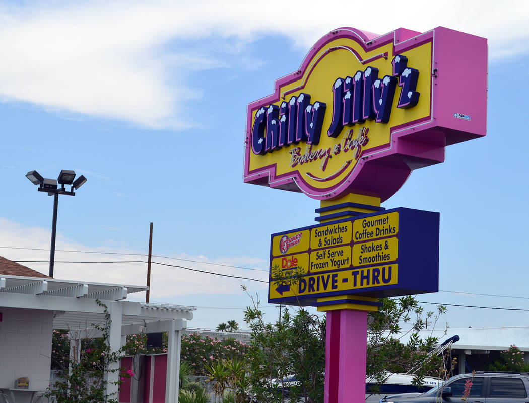 Celia Shortt Goodyear/Boulder City Review Shaved ice, Dole Whip and frozen yogurt are always on the menu at Chilly Jilly'z in Boulder City.