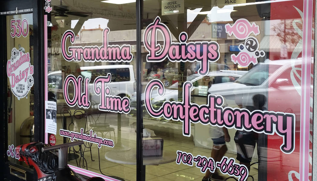 Celia Shortt Goodyear/Boulder City Review Grandma Daisy's in Boulder City offers a variety of treats to cool down in the summer.