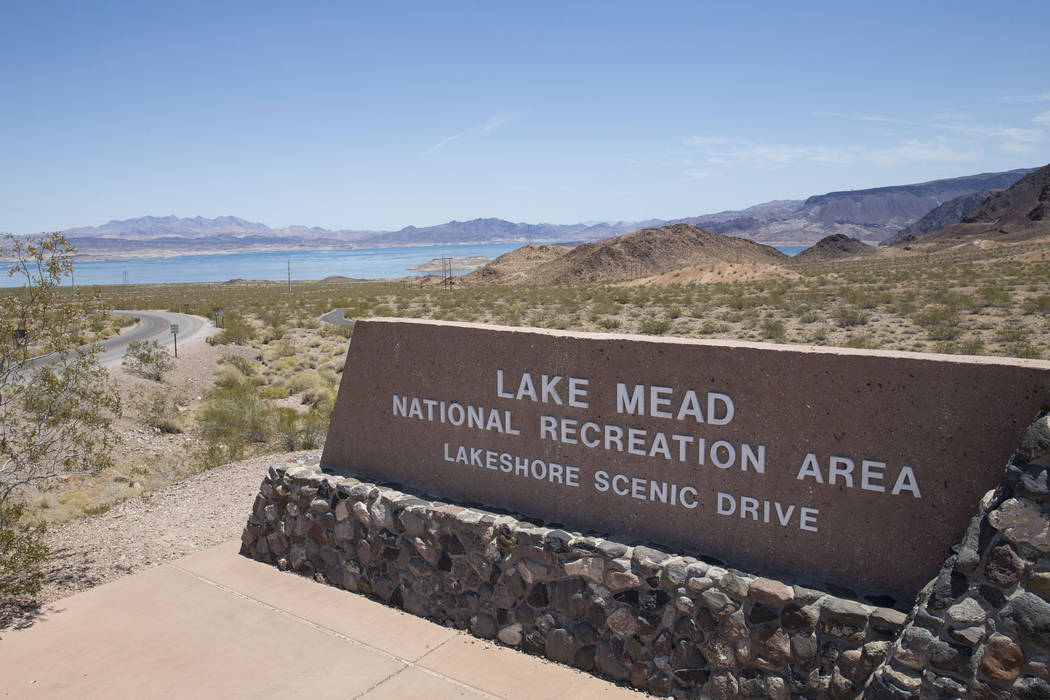 Lake Mead National Recreation Area Lakeshore Scenic Drive entrance on Monday, June 19, 2017. Richard Brian Las Vegas Review-Journal @vegasphotograph
