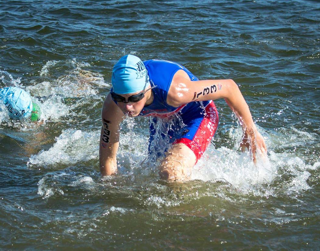 Eddie Carroll Ethan Porter, 14, of Boulder City will compete in Elite National Championship triathlon Saturday in West Chester, Ohio. He placed 29th out of 75 during a June 24 regional event in Mo ...