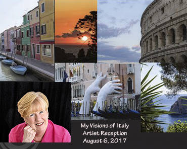 Boulder City Art Guild Photographs taken by Carol Bilodeau during a recent tour of Italy are on display in Boulder City Art Guild's gallery throughout August 2017.