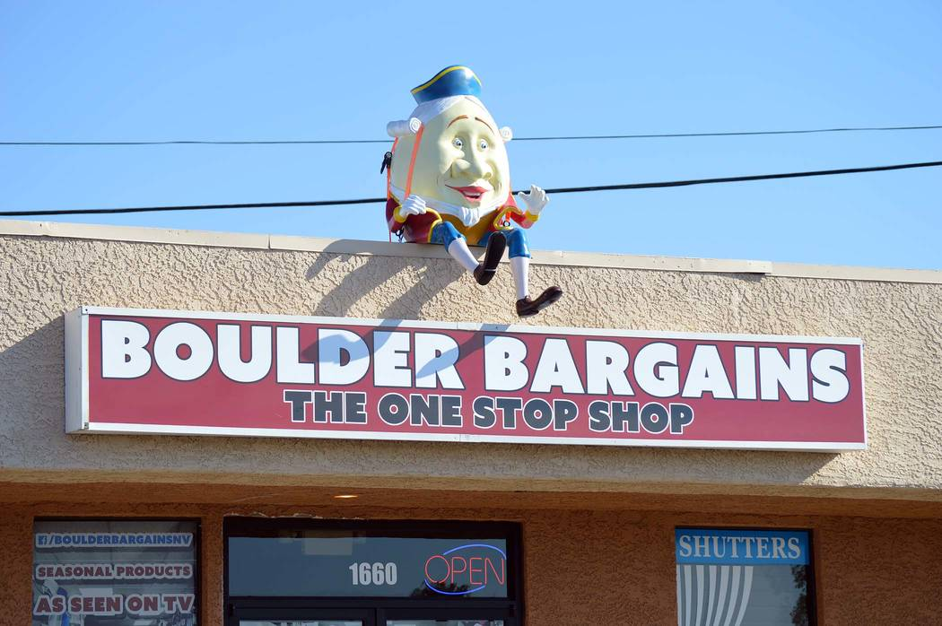 Celia Shortt Goodyear/Boulder City Review Boulder Bargains is now open for business every day of the week.