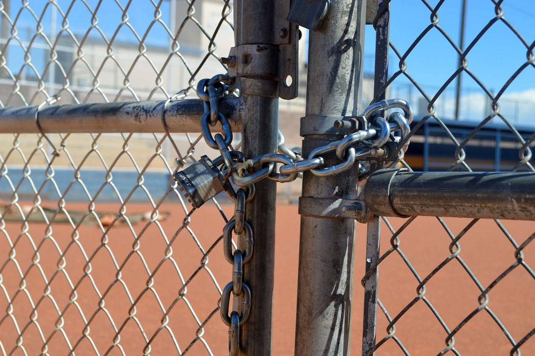 Celia Shortt Goodyear/Boulder City Review Soon all the ball fields in Boulder City, including Bravo Softball Field, will be locked when not in use, and those wanting to use them will have to make  ...