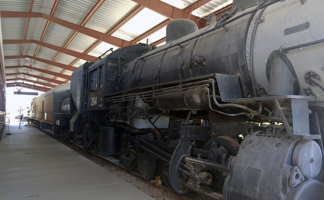 File The Southern Nevada Railway Museum offers rides Saturday and Sunday on the Boulder Branch Line on rails dating back to the 1930s.