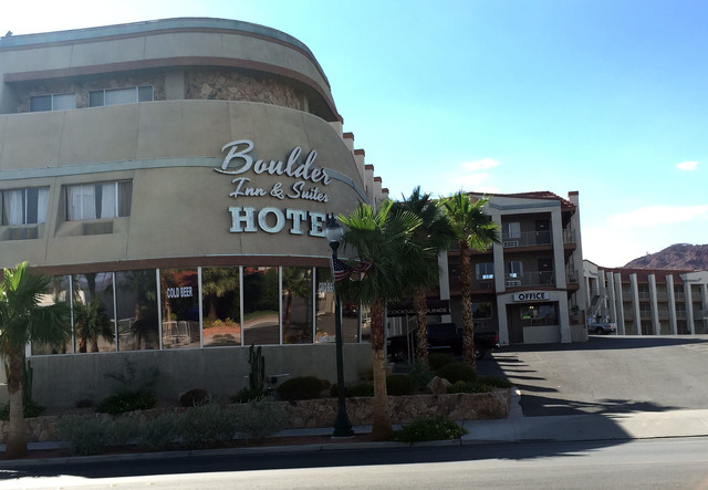 File The former 113-room Boulder Inn & Suites was purchased out of bankruptcy in 2015 and completely remodeled.