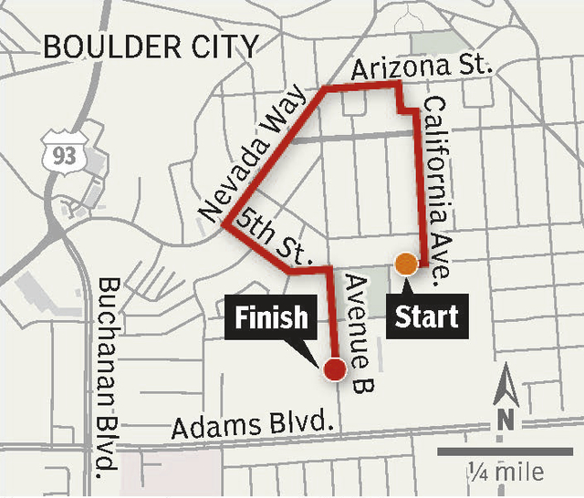 As part of homecoming festivities, Boulder City High School will present a parade from the school to downtown and back to the football field. The parade begins at 6 p.m. today, with a tailgate par ...