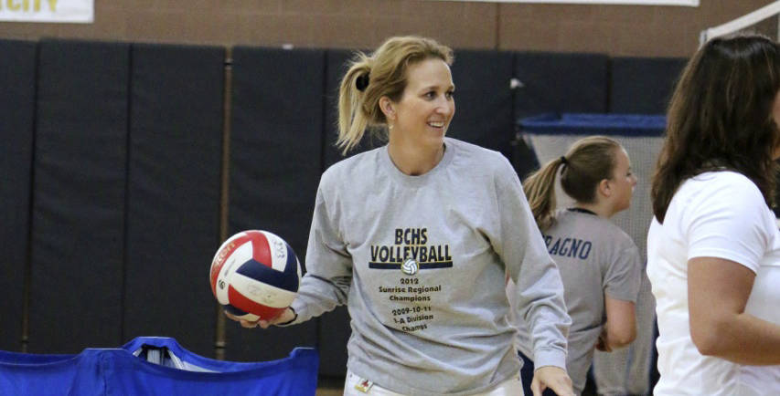 File Lady Eagles head volleyball coach Cherise Hinman sees promise for success this season. An improved performance at the Las Vegas Invitational and a final win gave the team momentum moving into ...