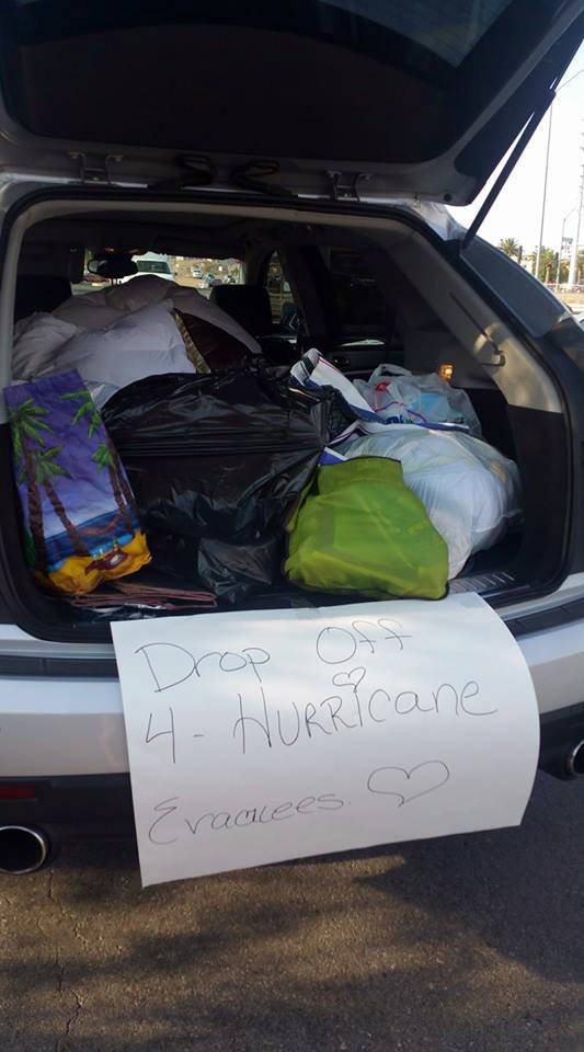 Jennifer Adams Boulder City resident Jennifer Adams is collecting supplies for those displaced by Hurricane Harvey.