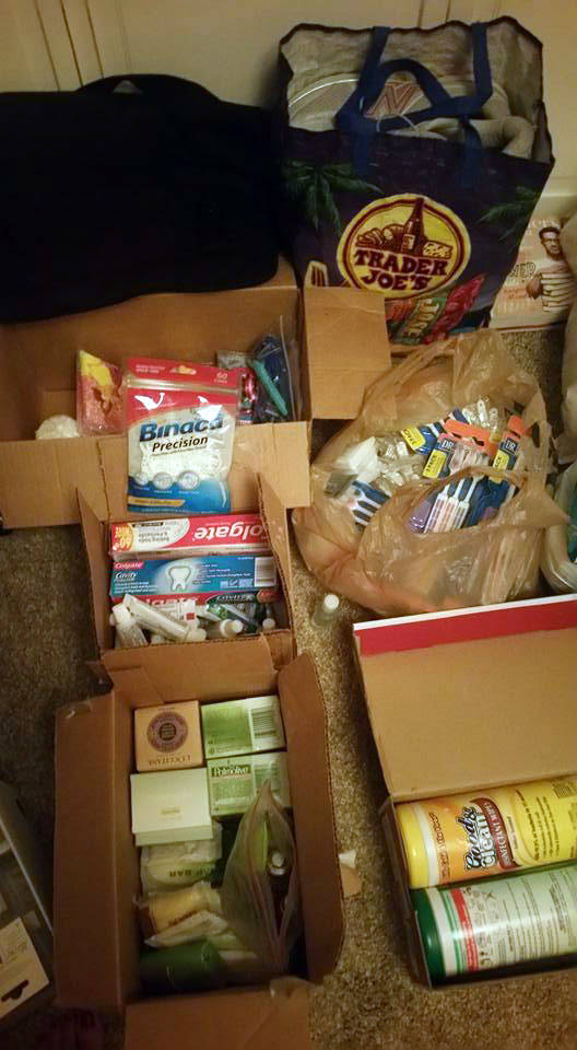 Jennifer Adams A Boulder City resident is collecting supplies for those who have been displaced from their homes because of Hurricane Harvey.
