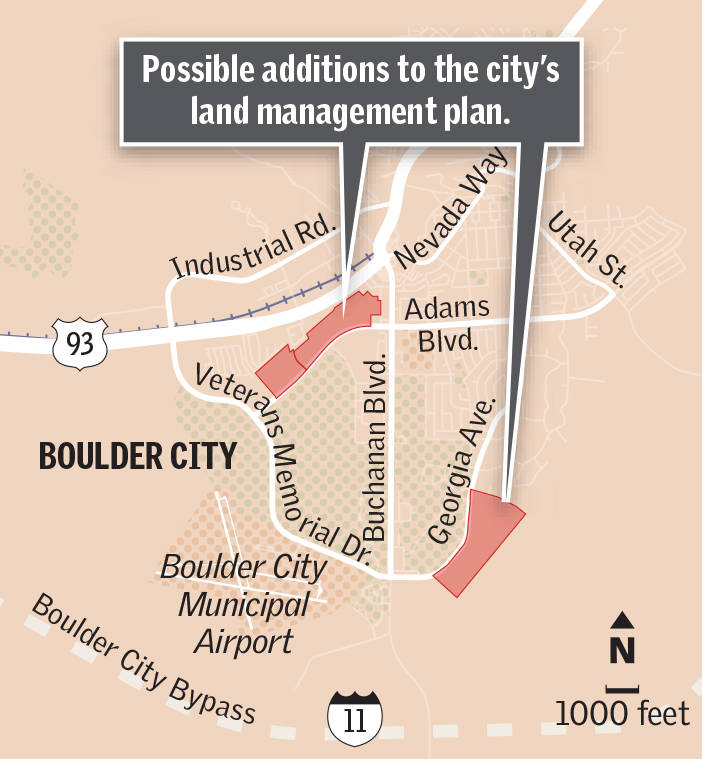 City agrees to add two parcels totaling about 74 acres to land management plan