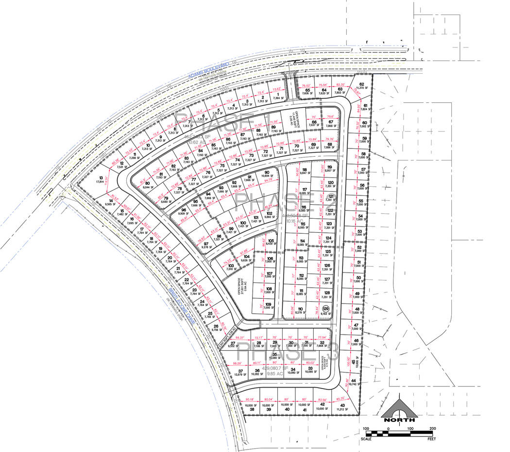 Boulder City StoryBook Homes has proposed to build a 129 homes on 30.63 acres of land at Bristlecone Drive and Adams Boulevard. The builder has requested four variances to accommodate the number o ...