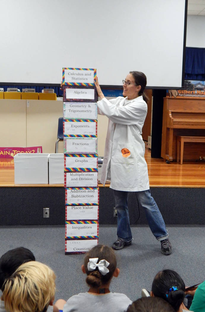 Jenny Ballif Jenny Ballif, known as Science Mom, will bring her hand-on, fact-filled science show to the Boulder City Library on Friday.