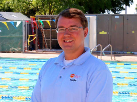 File Jacob Andersen, Boulder City's aquatic coordinator, was shot during the Route 91 Harvest country music festival in Las Vegas on Sunday, Oct. 1, 2017.